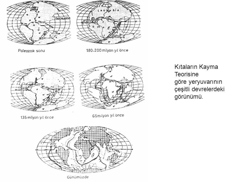Kıta Yükseltisi Kıta yamacının bittiği yerden başlayan ve 4.000 m.