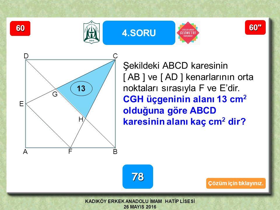 40° 70° 15 8 x A BDC 70° 15 110° Açı ve kenarlar sabitlendiğinden BİR TEK ADC üçgeni çizilebilir.