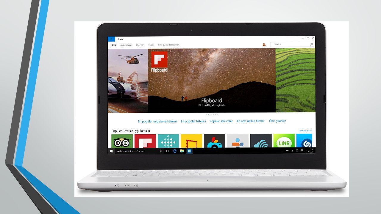 Yeni Windows Mağazası nda sevdiğiniz her şey bir arada Tüm Windows 10 cihazları için birleştirilmiş bir alışveriş deneyimi sunan yeni Windows Mağazası karşınızda.