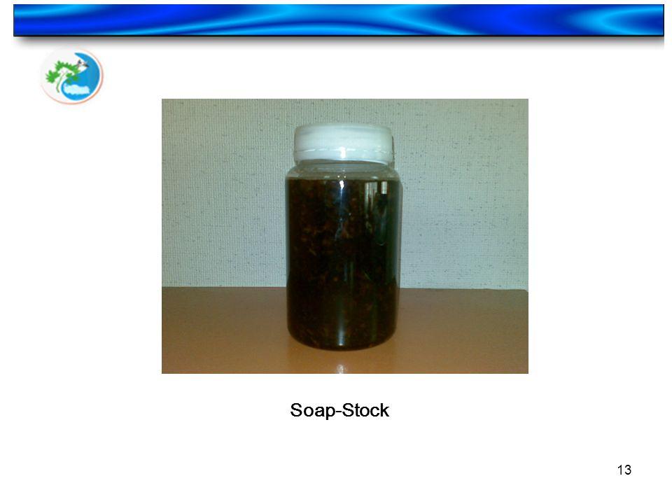 13 Soap-Stock