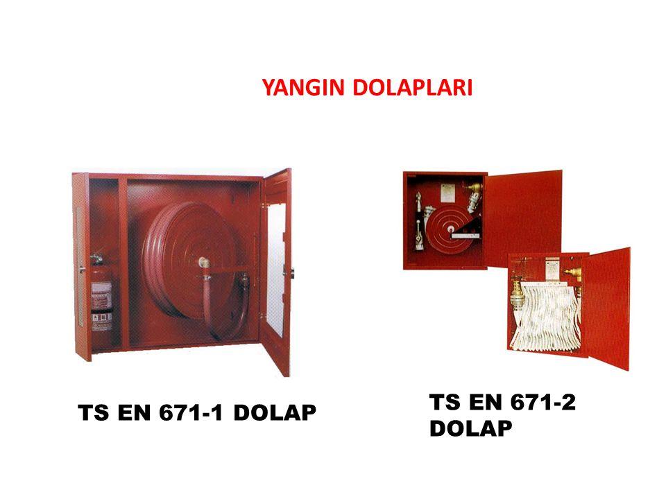 YANGIN DOLAPLARI TS EN 671-1 DOLAP TS EN 671-2 DOLAP