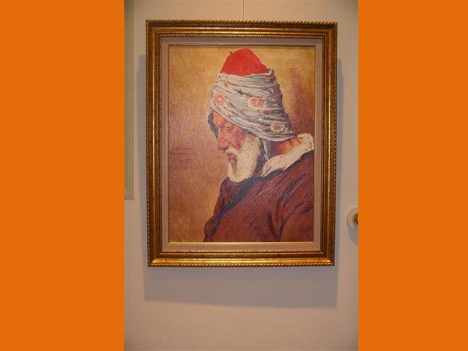 Müzenin en ilginç tarafı, üst kattaki odalardan birinde Osman Hamdi beyin Çiçek Düzenleyen Kız resim çalışmasının canlandırılması.