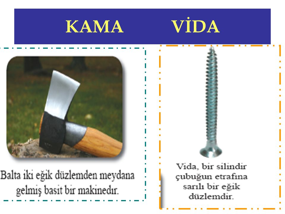 KAMA VİDA