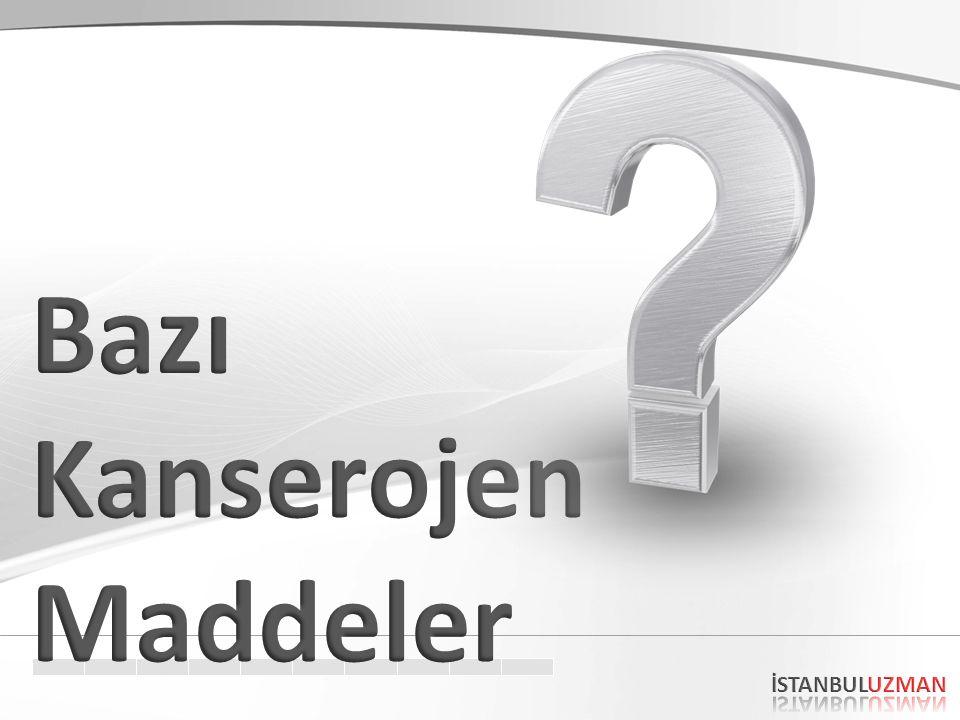 ASBEST-BENZEN ve KANSER Asbest: Akciğer CA, Mezotelyoma Dr.