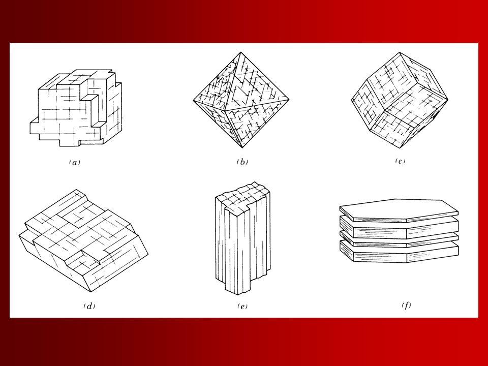 Dilinimi tanımlarken, kalitesini ve kristalografik yönlerini de vermek gereklidir –Dilinimin kalitesi: mükemmel, iyi ve zayıf gibi terimler –Dilinimin yönü: Kübik  001 , oktaedral  111 , romboedral  101 , prizmatik  110 , pinakoidal  001 