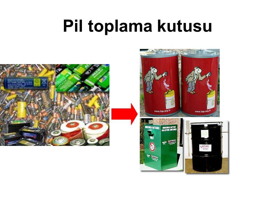 Pil toplama kutusu