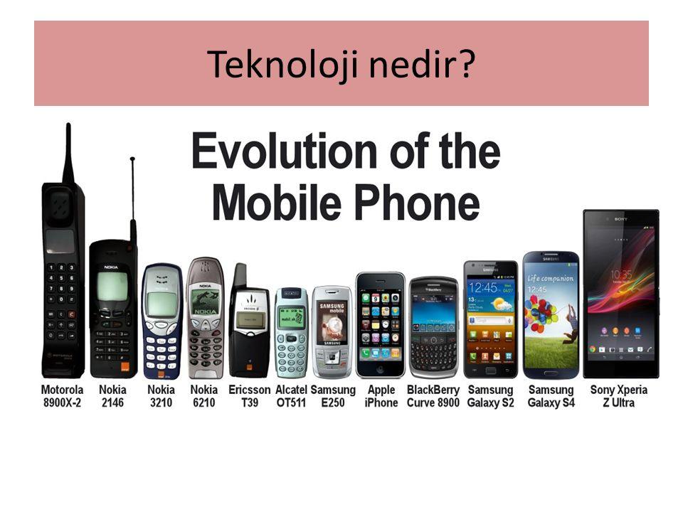 Teknolojinin Latince karşılığı Technoslogos dur.