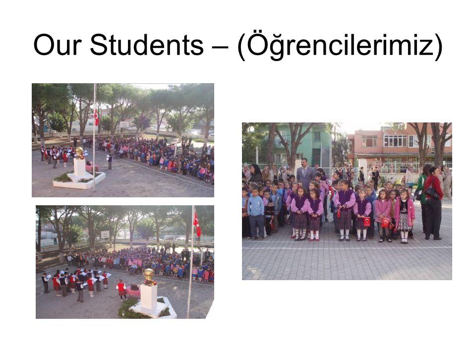 Our Students – (Öğrencilerimiz)