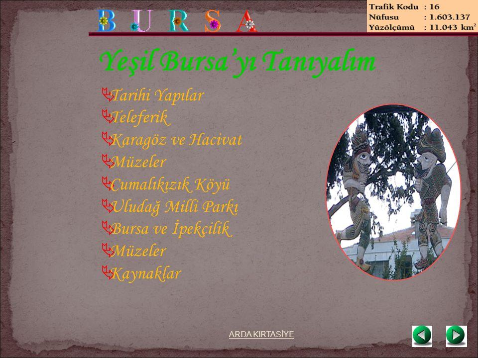 Bursa'nın İlçeleri  Osmangazi  Nilüfer  Yıldırım  Büyükorhan  Gemlik  Gürsu  Harmancık  İnegöl  İznik ARDA KIRTASİYE