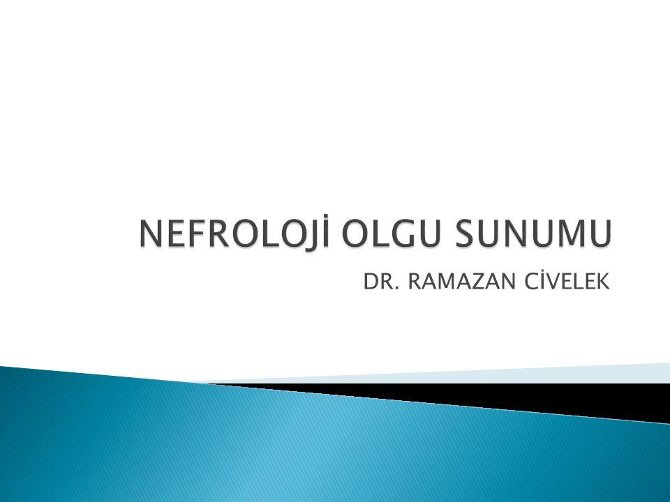 DR. RAMAZAN CİVELEK