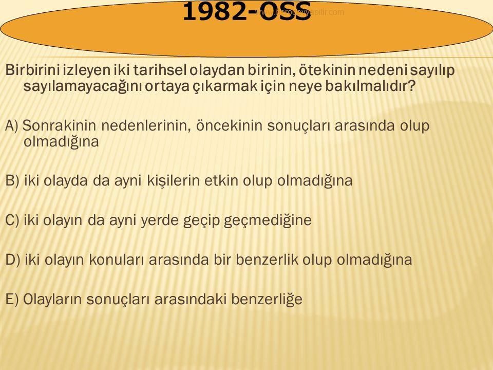 1)- Zamana Göre Sınıflandırma: (Örnek: Ortaçağ tarihi,15.