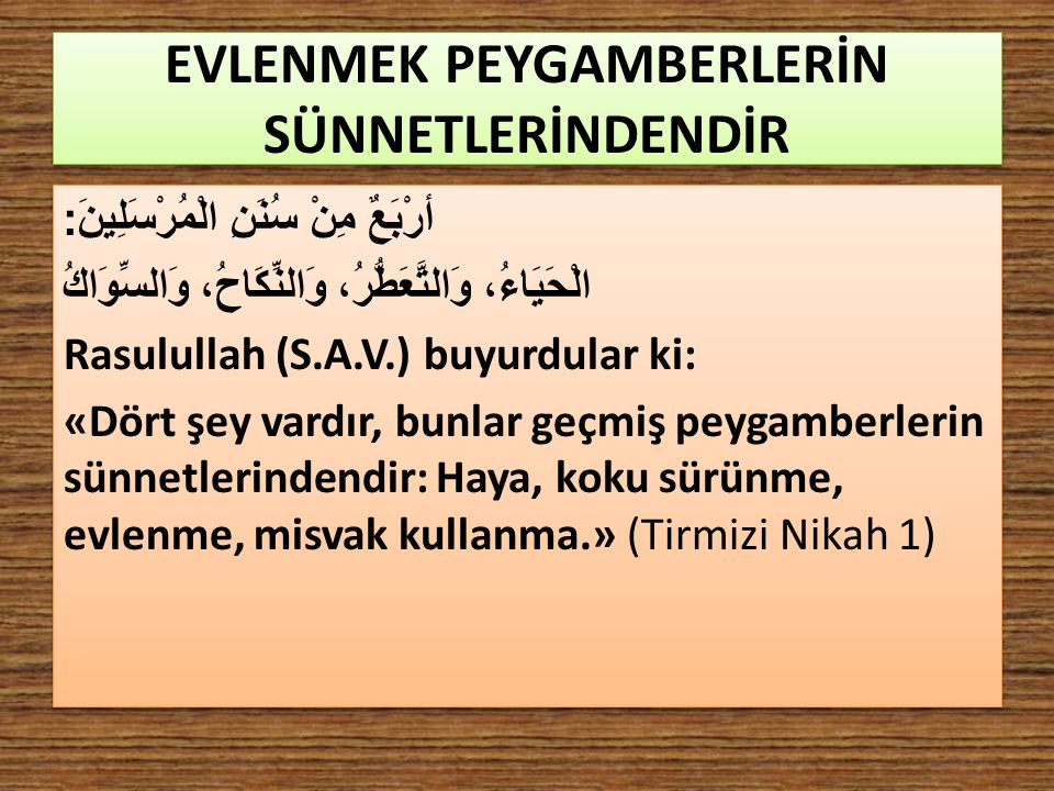 KİMLER, PEYGAMBERİMİZ (SAV)'DEN DEĞİLDİR.Hz.