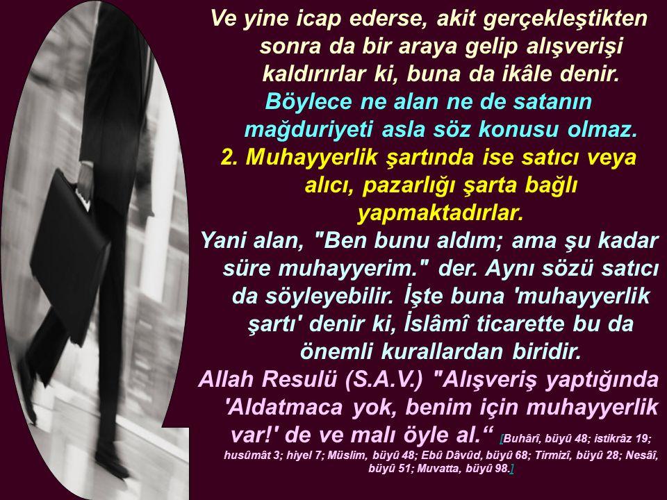 Mü mini aldatan bir insan bir mânâda Allah Resûlü nün kudsî dairesinden çıkmış sayılır.