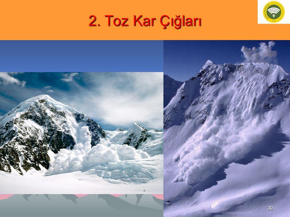 2. Toz Kar Çığları 30