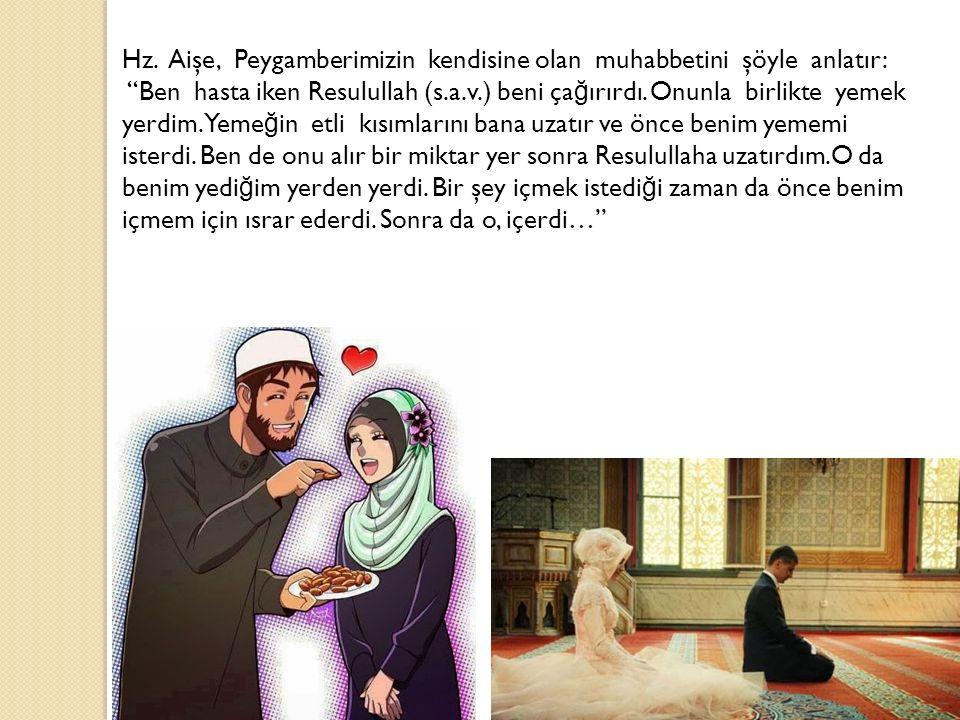Hanımının haklarını ifa etmeyenin; namazları, oruçları kabul olmaz.