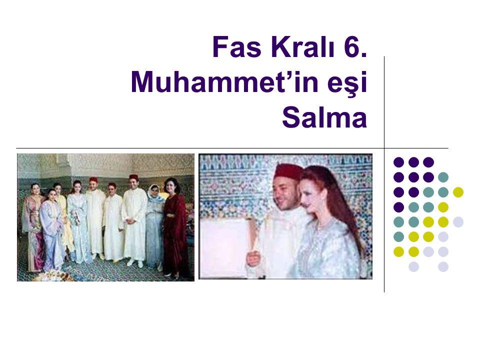 Fas Kralı 6. Muhammet'in eşi Salma