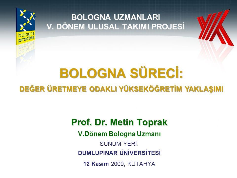 BOLOGNA UZMANLARI V.