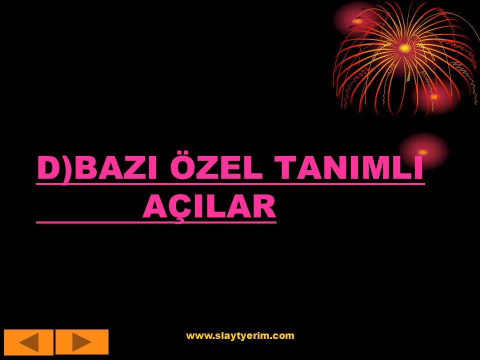 www.slaytyerim.com HEPİNİZİ BEKLERİZ. NOT:AİLE YERİMİZ MEVCUTTUR!