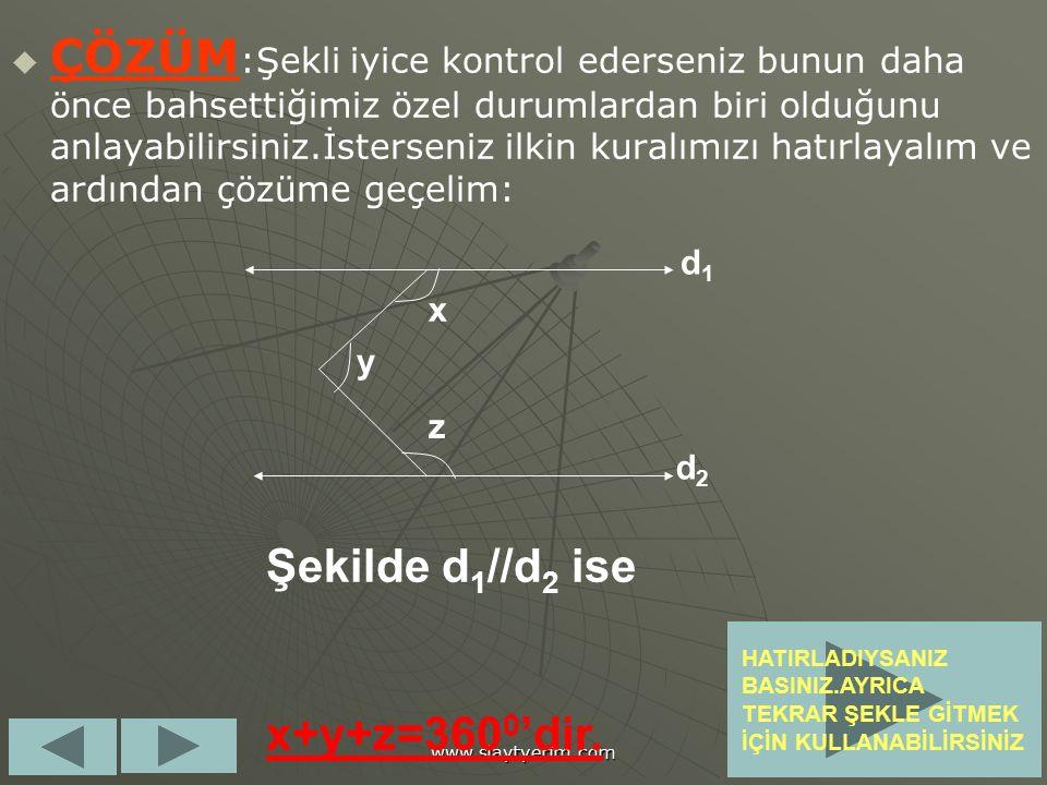 4.Soru :d 1 //d 2 olduğuna göre d1d1 d2d2 128 0 152 0 x Verilenlere göre x kaç derecedir.