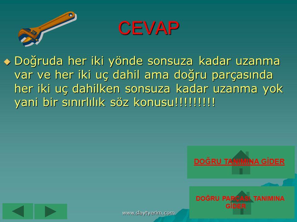 www.slaytyerim.com G) ÖZEL DURUMLAR G) ÖZEL DURUMLAR