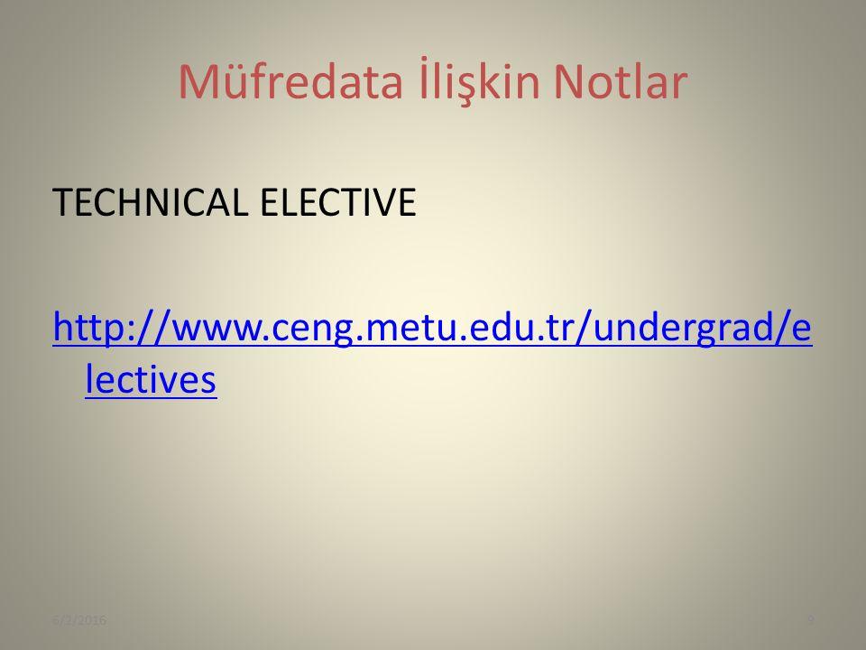 Başarılar senkul@ceng.metu.edu.tr 6/2/201620