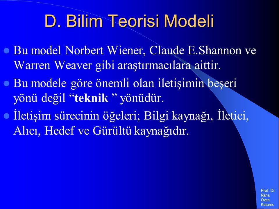 Prof. Dr. Rana Özen Kutanis D.