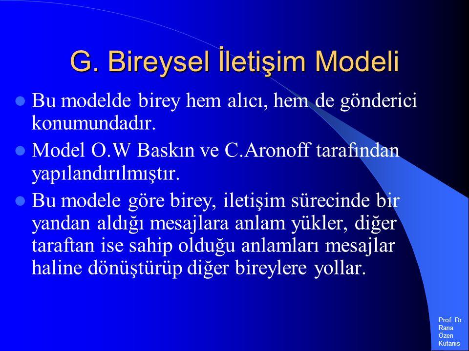 Prof. Dr. Rana Özen Kutanis G.