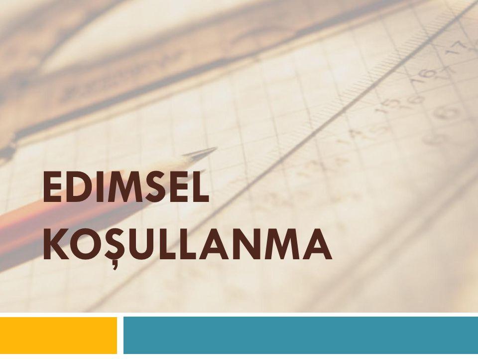EDIMSEL KOŞULLANMA