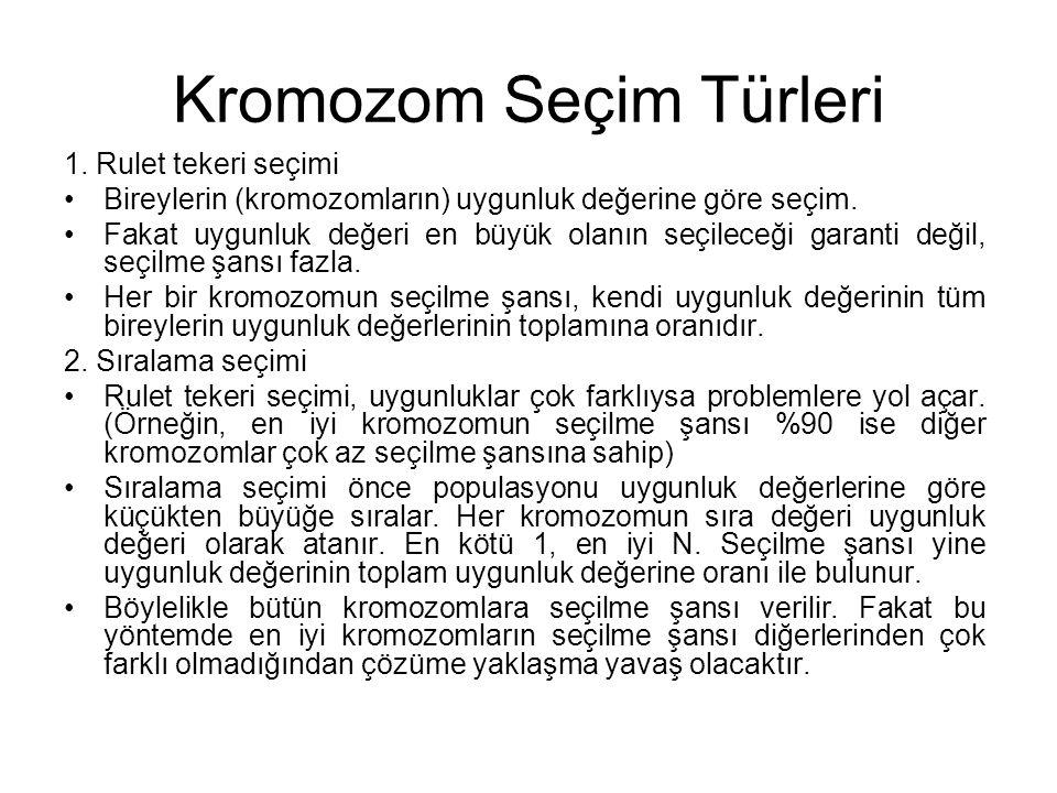 Kromozom Seçim Türleri 1.
