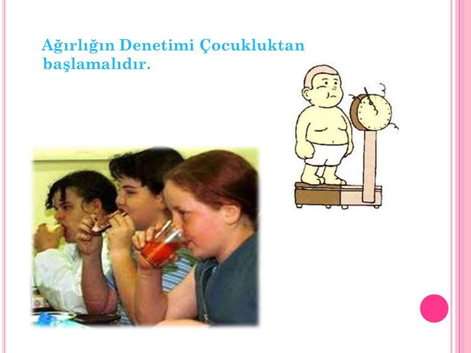 Diyabet – Obez olanlarda Tip 2 Diyabet gelişme riski obez olmayanlara göre 20 kat daha fazladır.