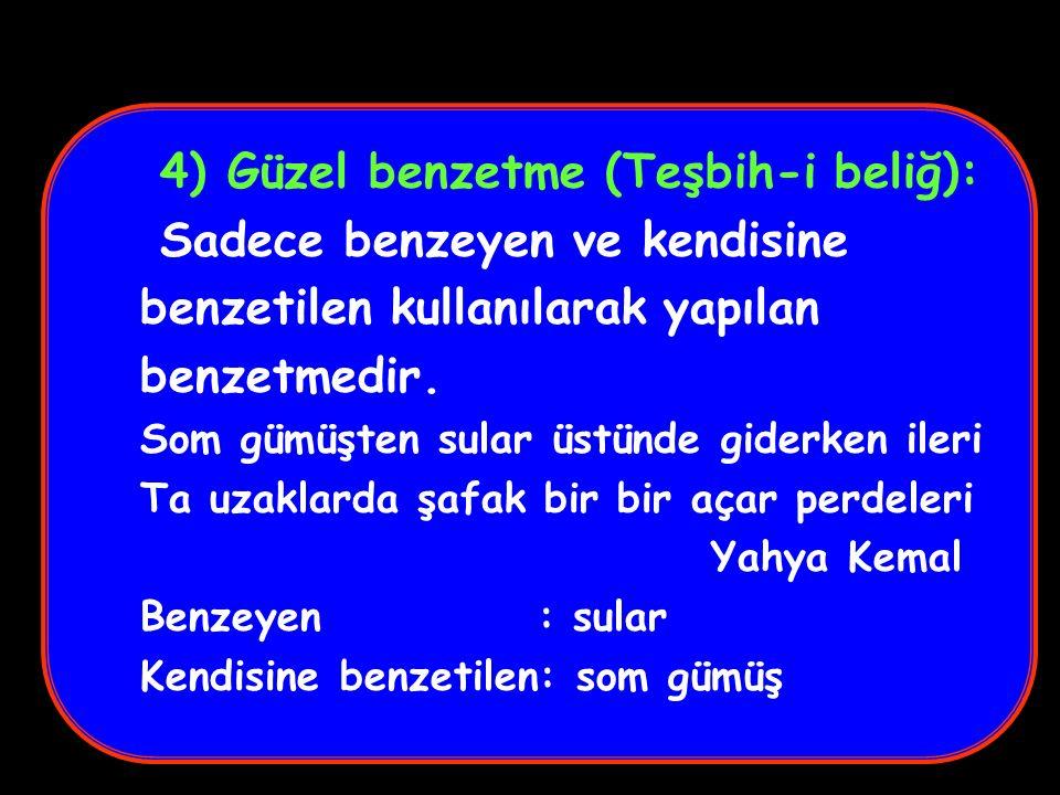 28) ASONANS Ünlü seslerin mısra veya dörtlük içerisinde tekrarlanmasıdır.