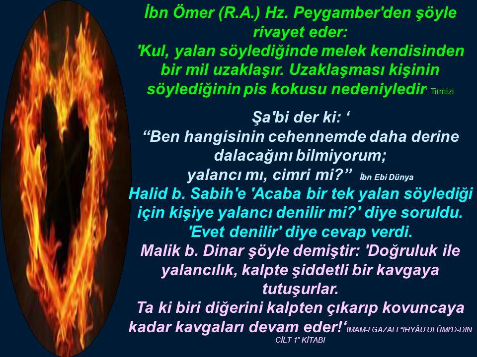 İbn Ömer (R.A.) Hz.