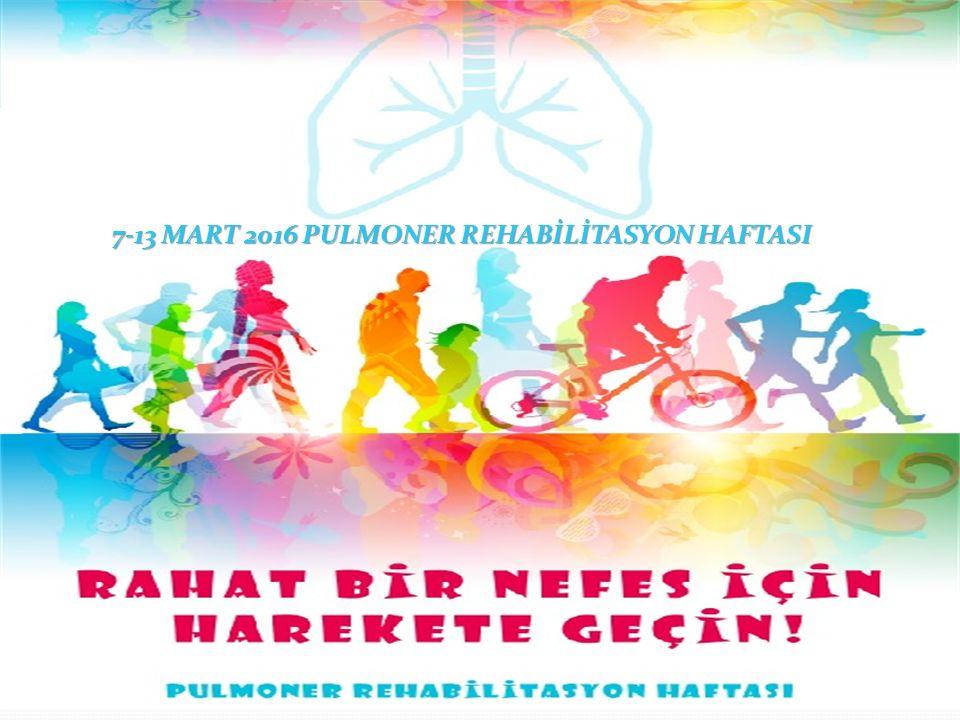 Pulmoner Rehabilitasyon nedir.