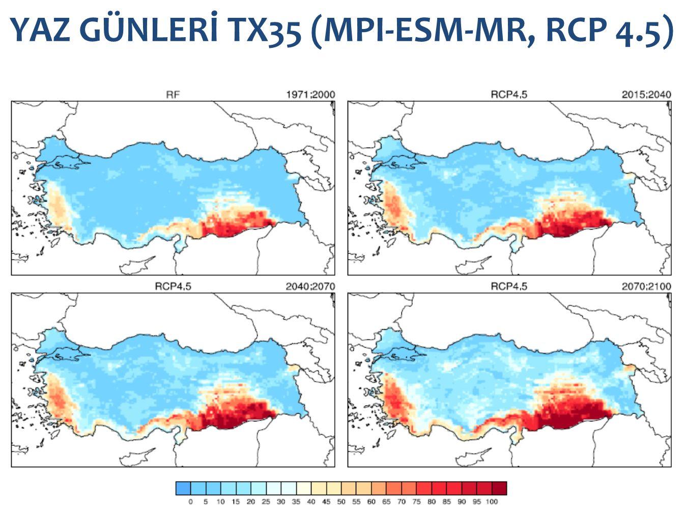 YAZ GÜNLERİ TX35 (MPI-ESM-MR, RCP 4.5)