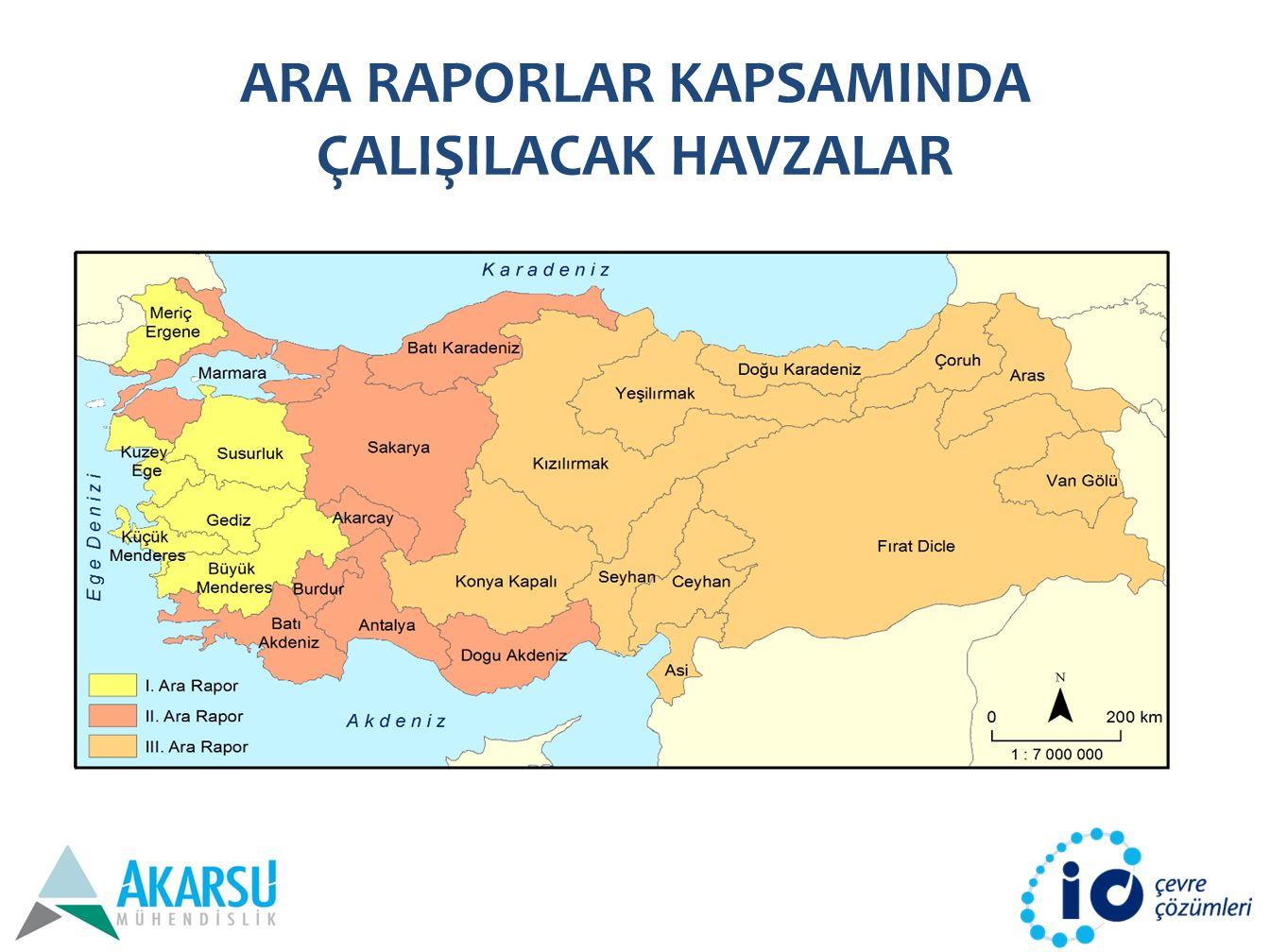İKLİM DEĞİŞİKLİĞİ PROJEKSİYONLARI – Türkiye üzerinde toplam kar örtüsü miktarında azalmalar öngörülmektedir – Ayrıca artan sıcaklıklara bağlı olarak bahar aylarında mevcut kar daha erken erime fazına geçerek bahar aylarının sonlarında ve yazın bölgede su stresini arttıracaktır – Günlük maksimum sıcaklıkların 25°C'yi aştığı günlerin sayısında artış gözlenmektedir – Donlu gün sayılarında ise belirgin azalma göze çarpmaktadır – Yüzyıl sonuna doğru sıcak hava dalgalarındaki hızlı artışın, Türkiye'nin orman yangınları riskini dramatik olarak arttırması beklenmektedir – Türkiye'nin Doğu Anadolu ve Güney Doğu Anadolu bölgelerinde sıcak hava dalgası beklenen gün sayıları 200'lere ulaşacaktır