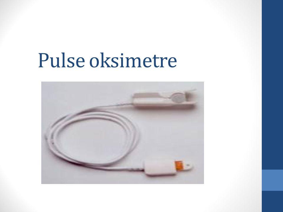 Pulse oksimetre