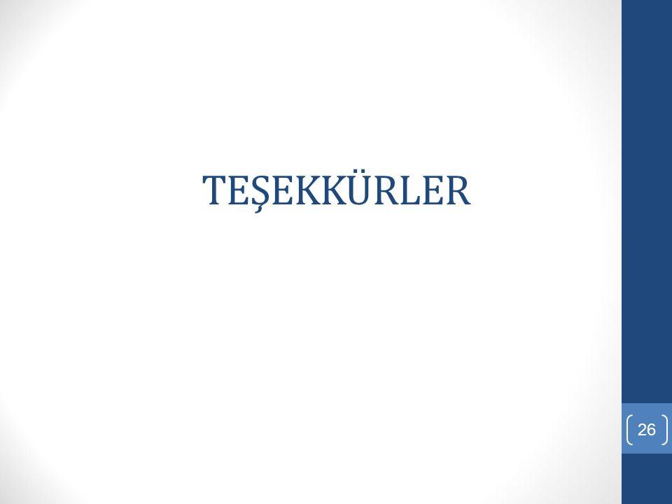 TEŞEKKÜRLER 26