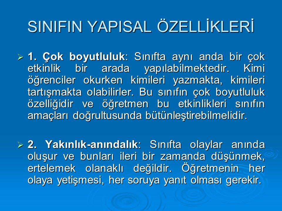 SINIF YÖNETİMİ MODELLERİ 3.