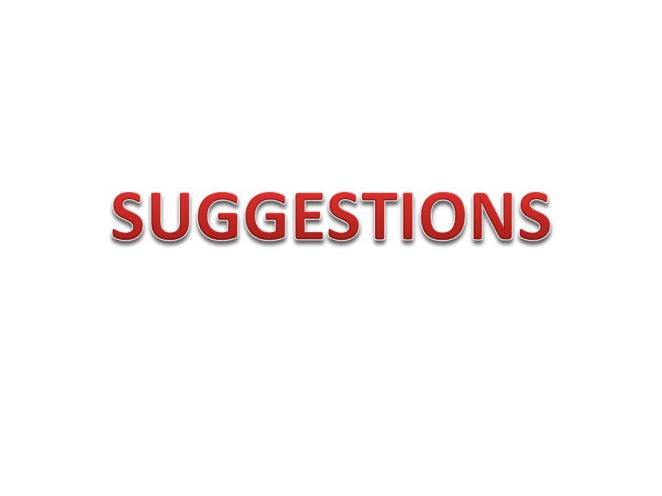 Suggestion kelimesi «öneri» anlamına gelir.