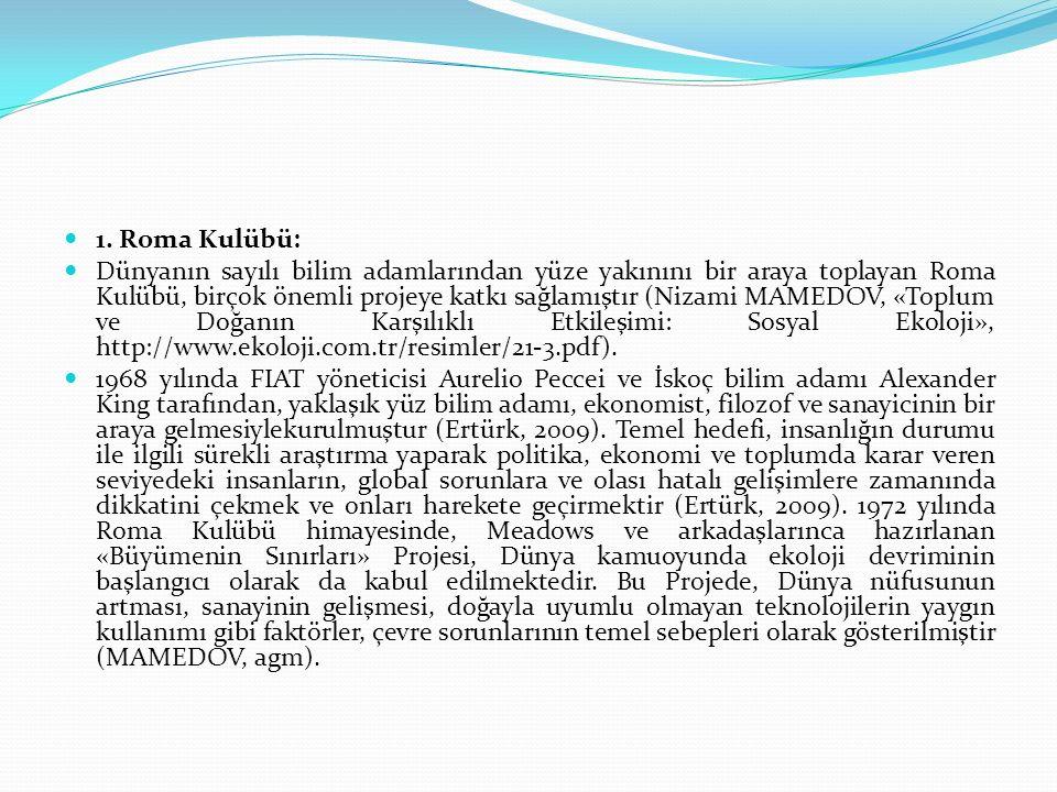 Bu senaryolara «Global Akdeniz Senaryoları» ismi verilmiştir.