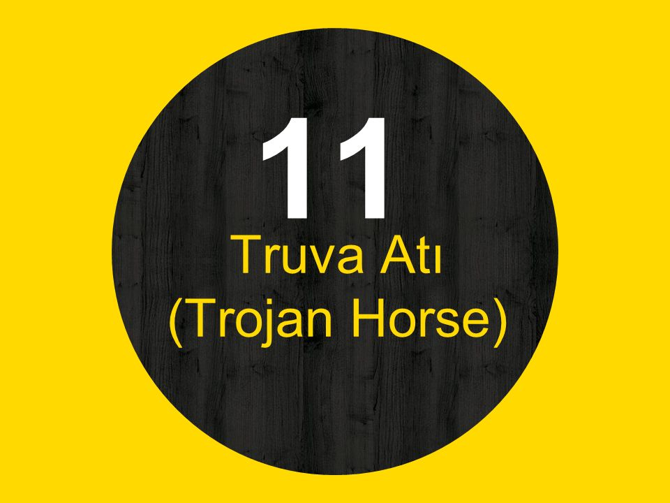 11 Truva Atı (Trojan Horse)
