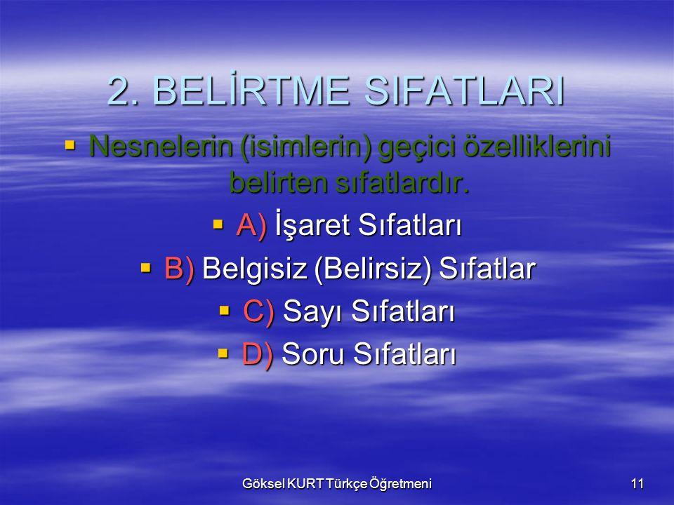 Göksel KURT Türkçe Öğretmeni11 2.