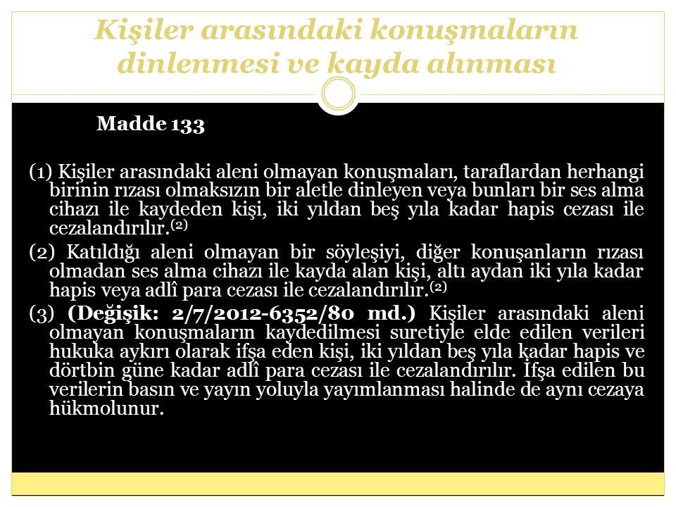 Cinsel saldırı Madde 102 (1) Cinsel davranışlarla bir kimsenin vücut dokunulmazlığını ihlâl eden kişi, mağdurun şikâyeti üzerine, beş yıldan on yıla kadar hapis cezası ile cezalandırılır.
