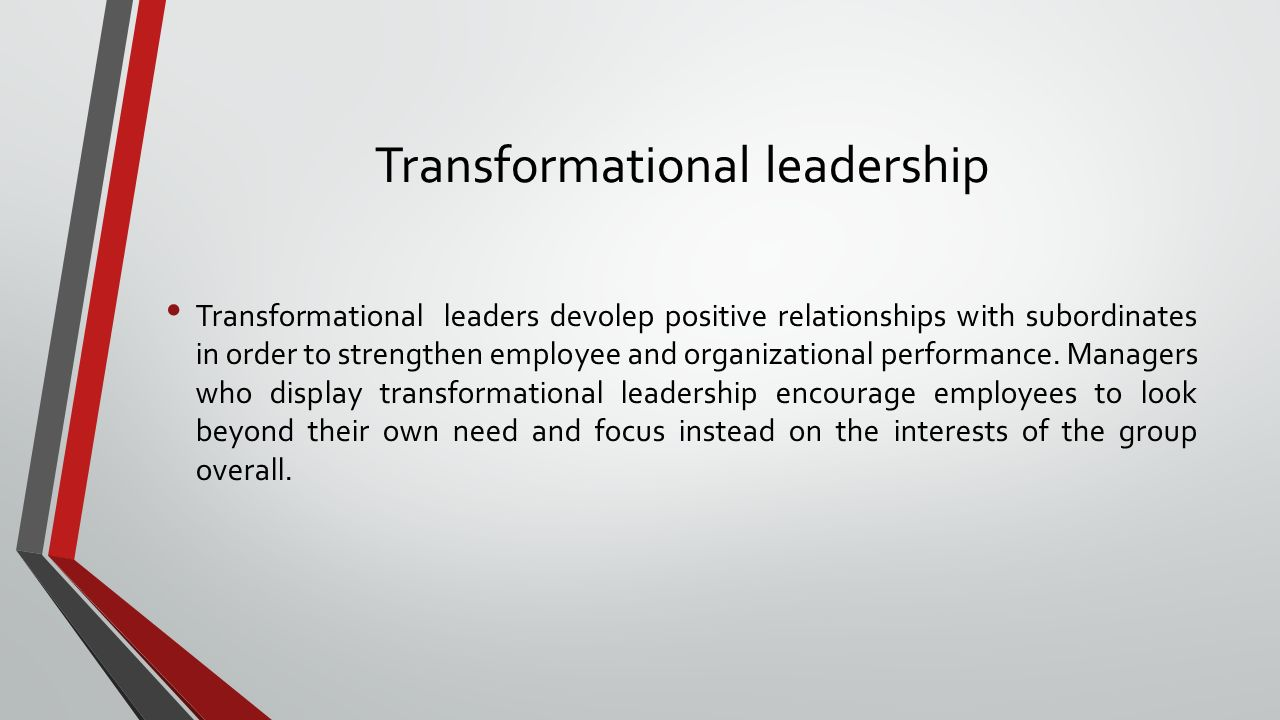 Contingent reward leadership These leaders establish work standards, communicate these standards to their subordianates, and let them know the rewards they will receive if their performance is favorable