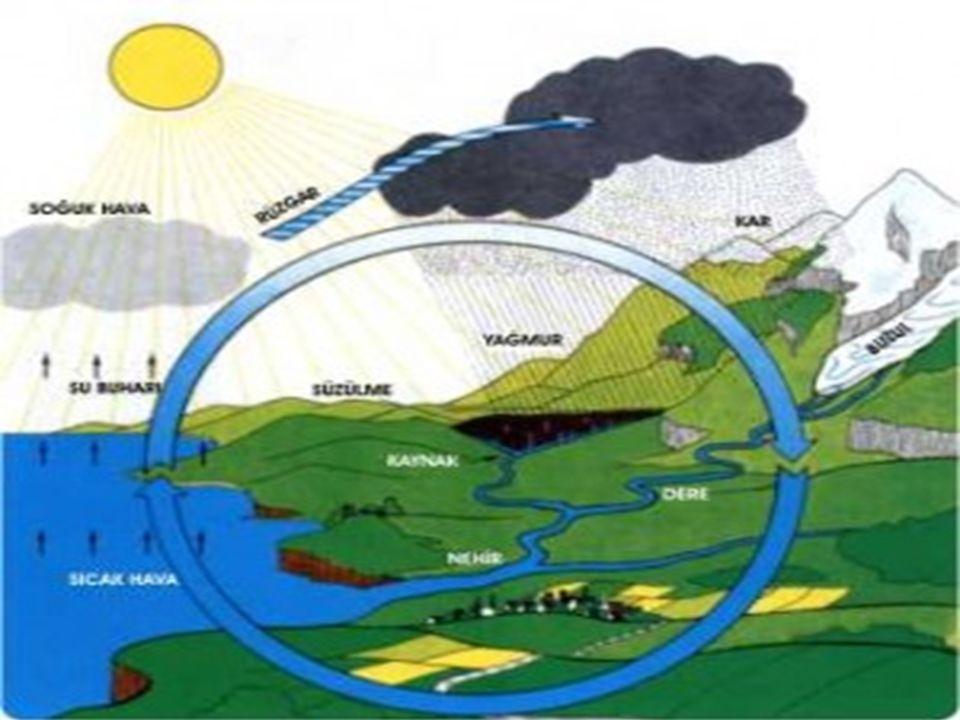 Asit Yağmurları: Asit yağmurları fosil yakıtların tüketimi sonucu ortaya çıkan gazlardan kükürt dioksit ve azot dioksit gazlarının su buharları ile birleşince tepkime oluşturur.