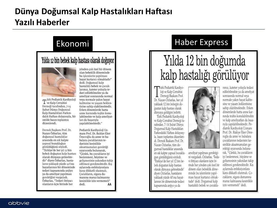 Dünya Doğumsal Kalp Hastalıkları Haftası Yazılı Haberler Ekonomi Haber Express