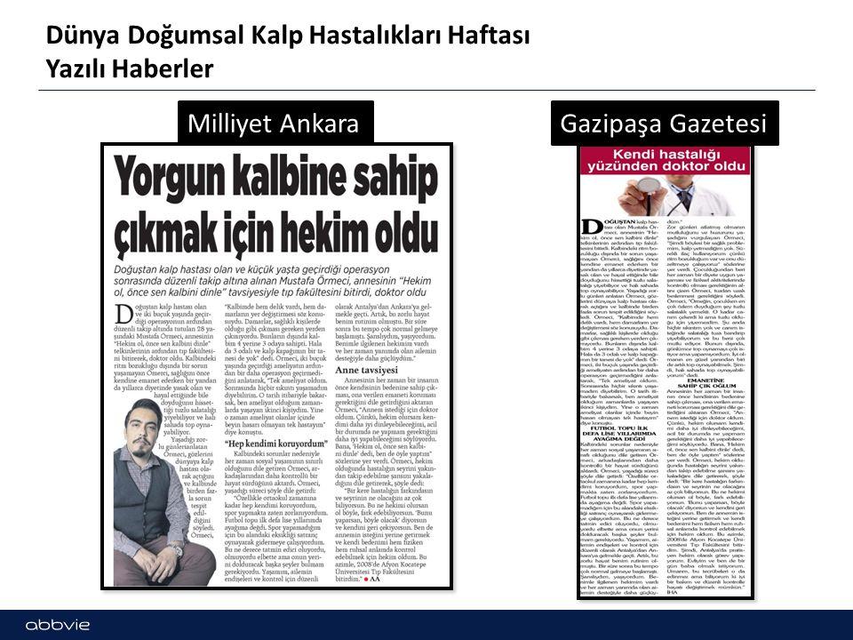 Dünya Doğumsal Kalp Hastalıkları Haftası Yazılı Haberler Bizim Anadolu