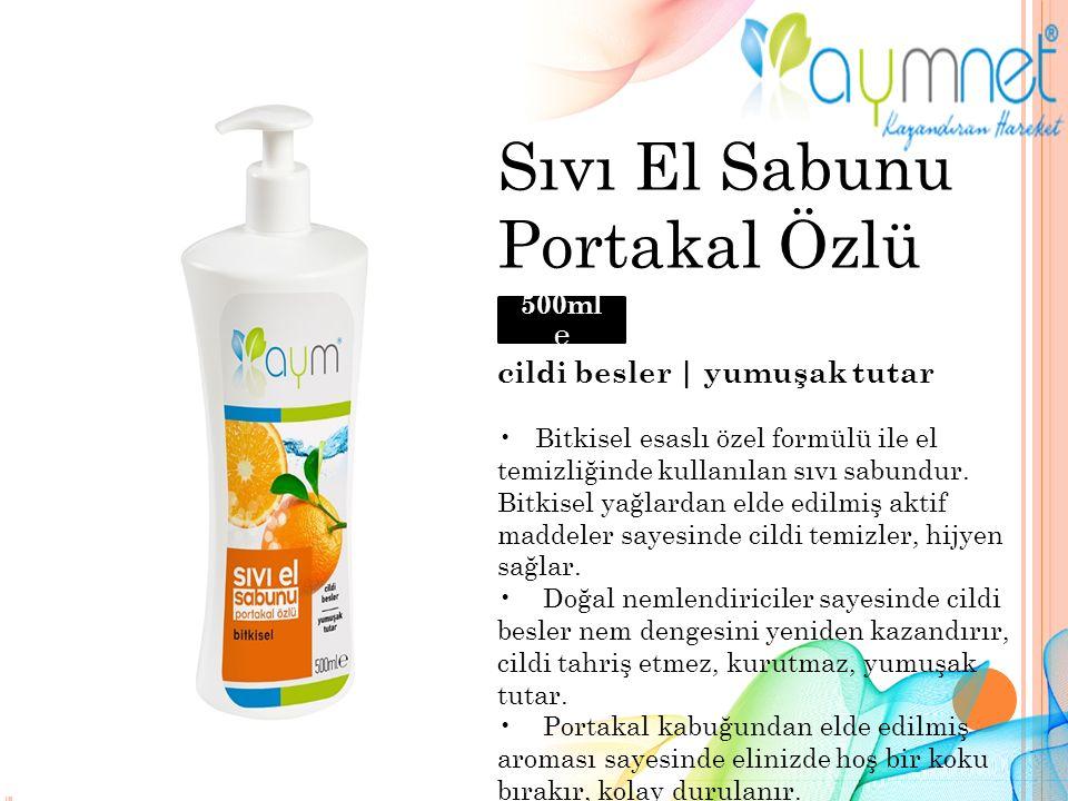 Sıvı El Sabunu Portakal Özlü cildi besler | yumuşak tutar Bitkisel esaslı özel formülü ile el temizliğinde kullanılan sıvı sabundur.