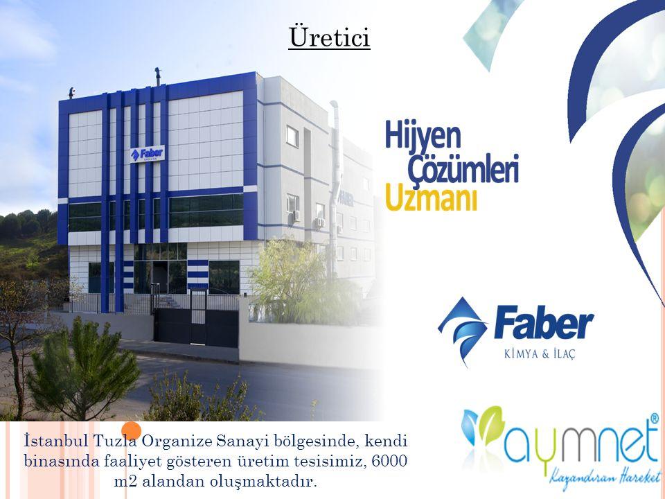 İstanbul Tuzla Organize Sanayi bölgesinde, kendi binasında faaliyet gösteren üretim tesisimiz, 6000 m2 alandan oluşmaktadır.
