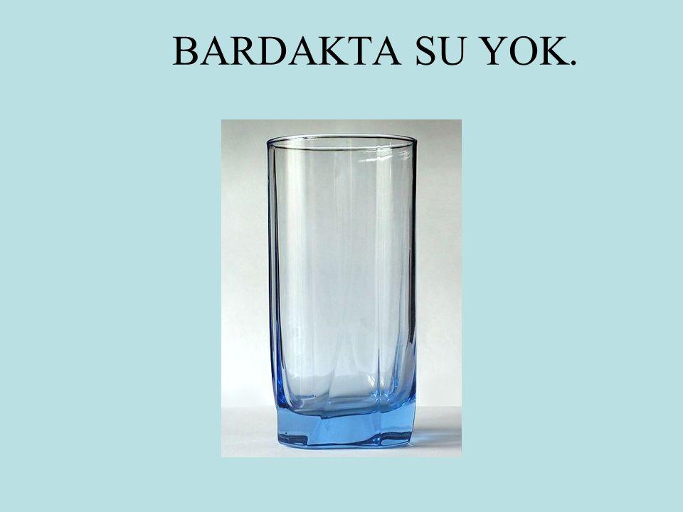 BARDAKTA SU YOK.